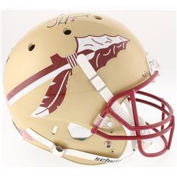 Jameis Winston Signed Florida State Seminoles Full-Size Helmet (Radtke COA  Winston Hologram)