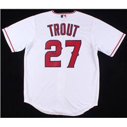Mike Trout Signed Angels Jersey (JSA ALOA)