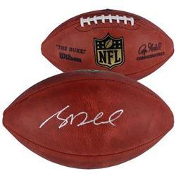 """Sam Darnold Signed """"The Duke"""" Official NFL Game Ball (Fanatics Hologram)"""