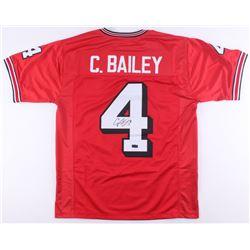 Champ Bailey Signed Georgia Jersey (Radtke COA)