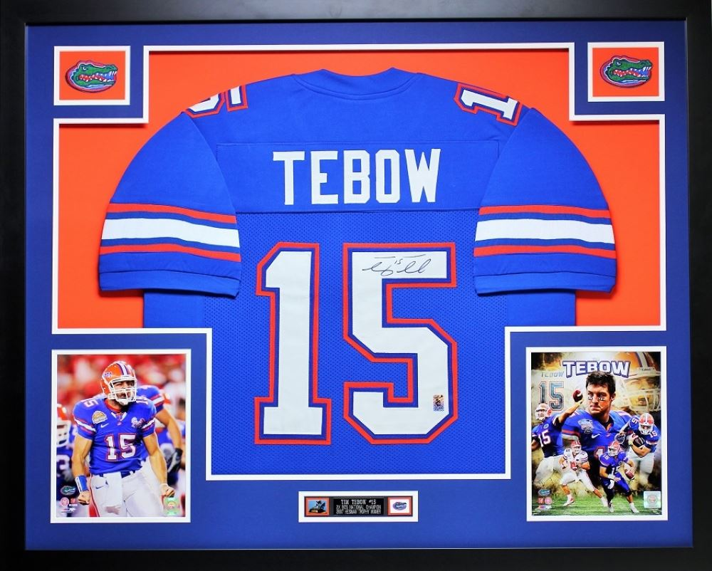 pretty nice 47ef9 e553d Tim Tebow Signed Florida 35