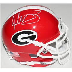 Todd Gurley Signed Georgia Bulldogs Mini-Helmet (Radtke COA)