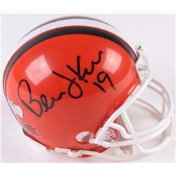 Bernie Kosar Signed Browns Mini-Helmet (Radtke COA)