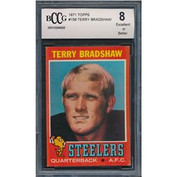 1972 Topps #150 Terry Bradshaw (BCCG 8)