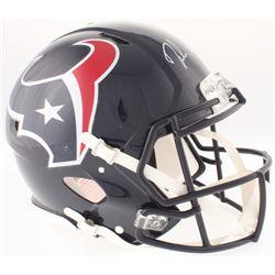 Deshaun Watson Signed Texans Full-Size Authentic On-Field Speed Helmet (Radtke COA)