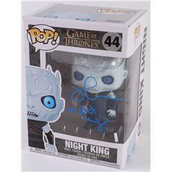 "Richard Blake Signed ""Night King: Game of Thrones"" Funko Pop Vinyl Figure Inscribed ""Night King"" (Ra"