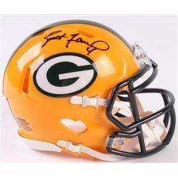 Brett Favre Signed Packers Speed Mini-Helmet (Radtke COA)