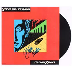 "Steve Miller Signed The Steve Miller Band ""Italian X Rays"" Vinyl Record Album Cover (REAL LOA)"