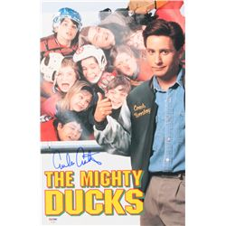"Emilio Estevez Signed ""The Mighty Ducks"" 11x17 Photo (PSA COA)"