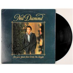 "Neil Diamond Signed ""I'm Glad You're Here with Me Tonight"" Vinyl Record Album (JSA COA)"