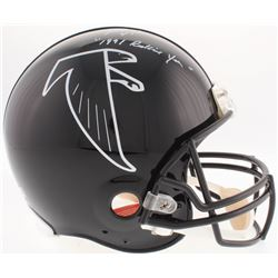 "Brett Favre Signed Falcons Full-Size Authentic On-Field Helmet Inscribed ""1991 Rookie Year"" (Radtke"