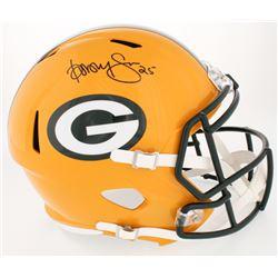 Dorsey Levens Signed Packers Full-Size Speed Helmet (JSA COA)