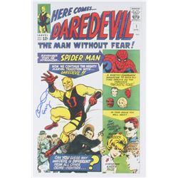 "Elden Henson Signed ""Daredevil"" 11x17 Poster Inscribed ""Foggy"" (JSA COA)"