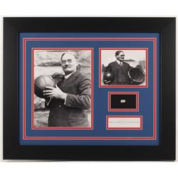 Dr. James Naismith 19.5x23.5 Custom Framed Display with (1) Hand-Written Word (PSA LOA Copy)