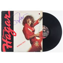 "Sammy Hagar Signed ""Danger Zone'"" Vinyl Record Album Cover (JSA COA)"