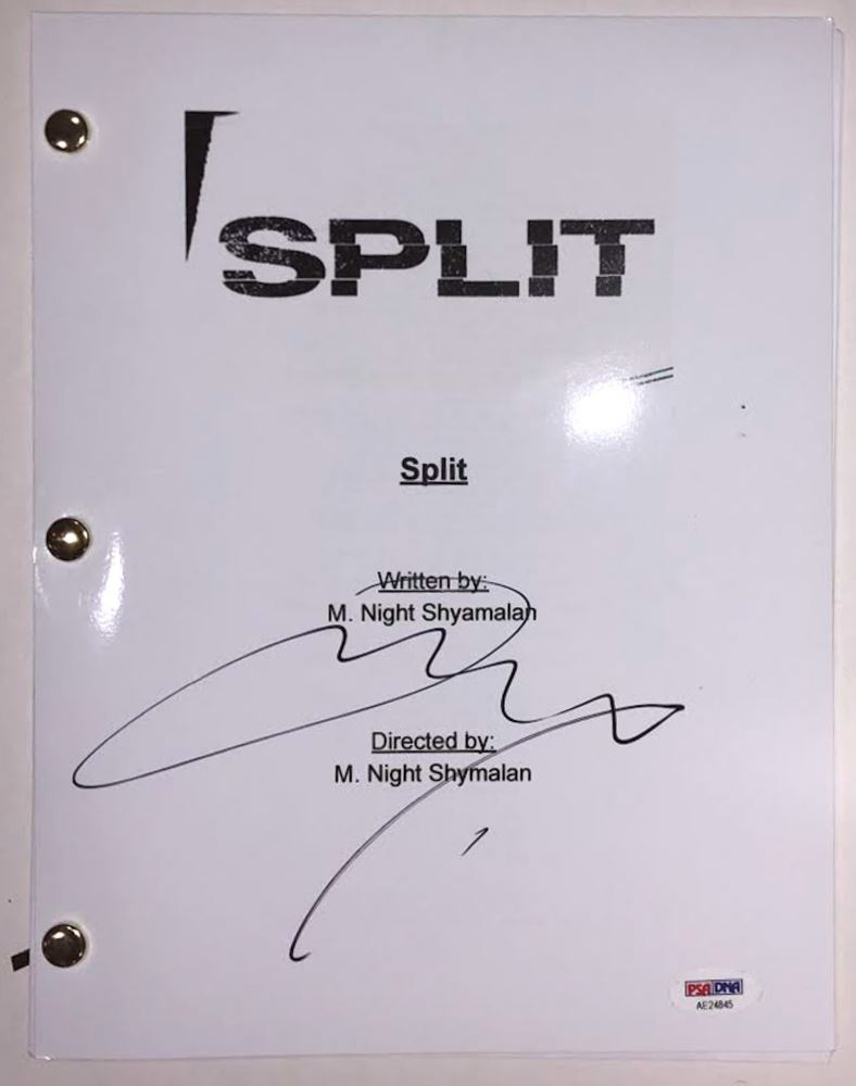 James McAvoy Signed
