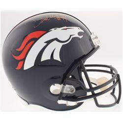 DeMarcus Ware Signed Broncos Full-Size Helmet (Radtke COA)