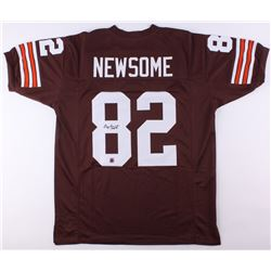 "Ozzie Newsome Signed Browns Jersey Inscribed ""HOF 99"" (Jersey Source COA)"