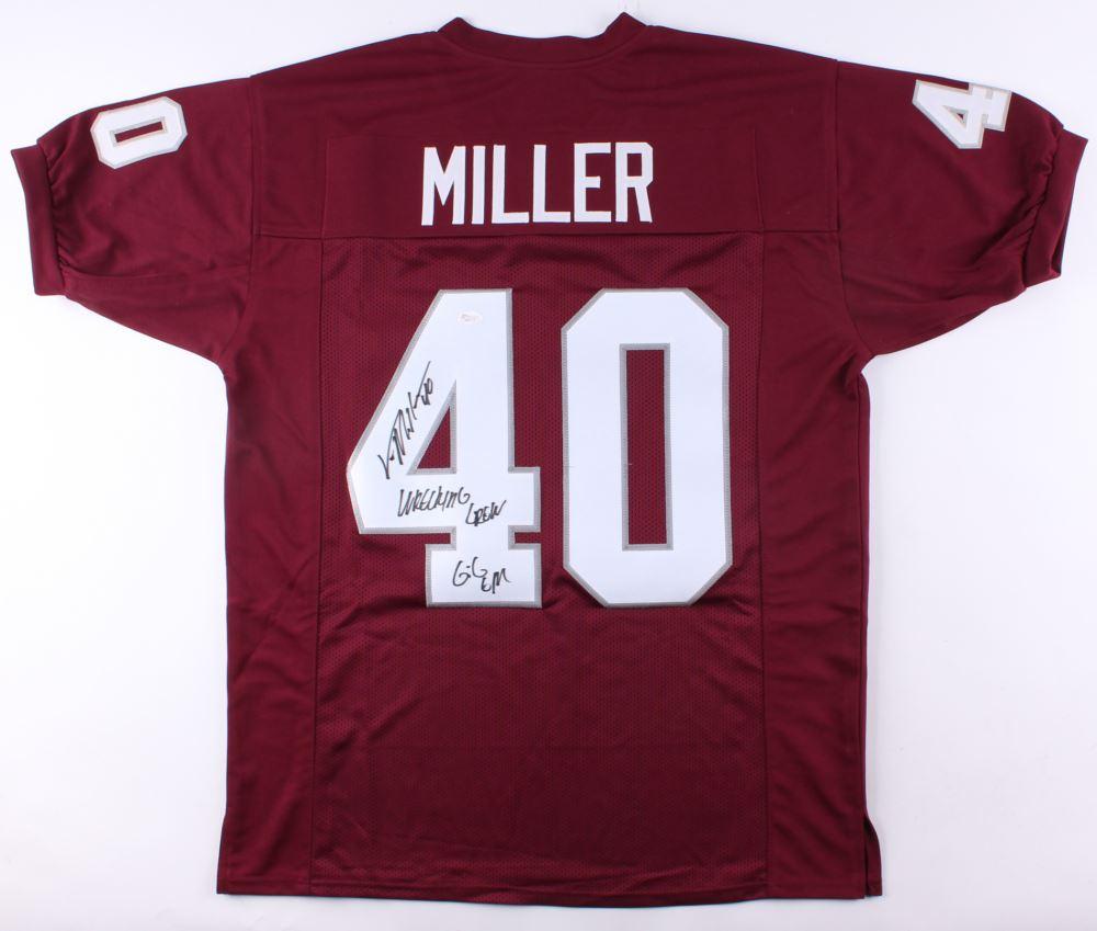 newest ff790 42f5c Von Miller Signed Texas AM Jersey Inscribed