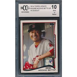 2014 Topps Update #US26B Mookie Betts (BCCG 10)