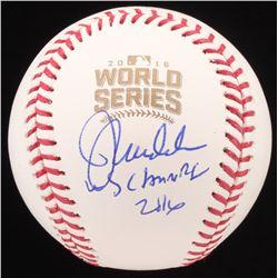 "Joe Maddon Signed 2016 World Series Baseball Inscribed ""WS Champs 2016"" (JSA COA)"