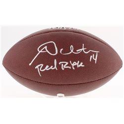 "Andy Dalton Signed NFL Football Inscribed ""Red Rifle"" (JSA COA)"