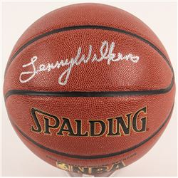 Lenny Wilkens Signed NBA Basketball (Schwartz COA)