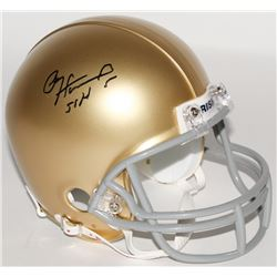 """Paul Hornung Signed Notre Dame Fighting Irish Mini Helmet Inscribed """"56 H"""" (Schwartz COA)"""
