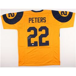 Marcus Peters Signed Rams Jersey (JSA COA)
