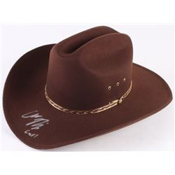 "Chandler Riggs Signed ""The Walking Dead"" Carl Grimes Sheriff Hat Inscribed ""Carl"" (Radke Hologram)"