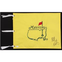 Bubba Watson Signed Masters Tournament Golf Pin Flag (JSA COA)