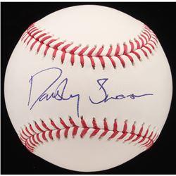 Dansby Swanson Signed OML Baseball (JSA Hologram)