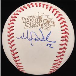 Michael Wacha Signed 2013 World Series Baseball (PSA Hologram)