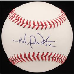 Michael Wacha Signed OML Baseball (PSA Hologram)