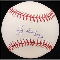 """Yogi Berra Signed OML Baseball Inscribed """"HOF 72"""" (JSA LOA)"""