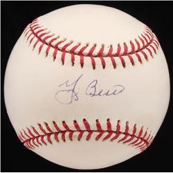Yogi Berra Signed OML Baseball (JSA Hologram)