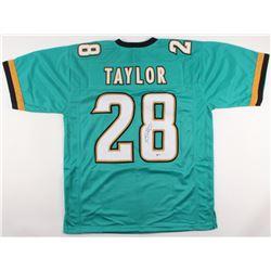 Fred Taylor Signed Jaguars Jersey (Beckett COA)