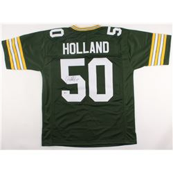 Johnny Holland Signed Packers Jersey (Beckett COA)