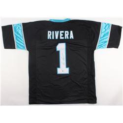 Ron Rivera Signed Panthers Jersey (Beckett COA)
