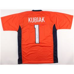 Gary Kubiak Signed Broncos Jersey (Beckett COA)