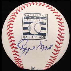 Ozzie Smith Signed OML Hall of Fame Baseball (JSA Hologram)
