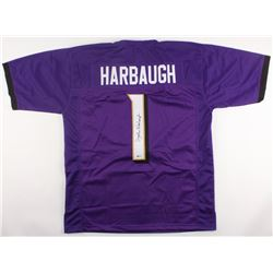John Harbaugh Signed Ravens Jersey (Beckett COA)