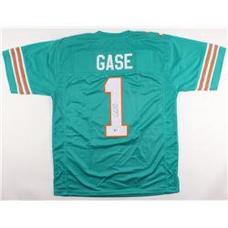 Adam Gase Signed Dolphins Jersey (Beckett COA)