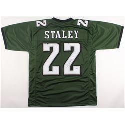 Duce Staley Signed Eagles Jersey (Beckett COA)