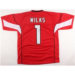 Steven Wilks Signed Cardinals Jersey (Beckett COA)