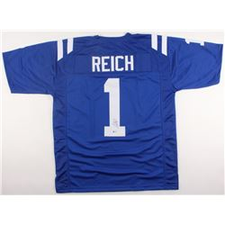 Frank Reich Signed Colts Jersey (Beckett COA)
