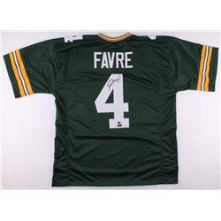Brett Favre Signed Packers Jersey (Schwartz COA  Radtke Favre Hologram)