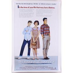 "Molly Ringwald Signed ""Sixteen Candles"" 24x36 Poster (Schwartz COA)"