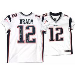 "Tom Brady Signed Patriots LE Jersey Inscribed ""SB 51 Champs"" (Steiner COA  TriStar Hologram)"