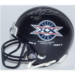 "Richard Dent Signed Bears Super Bowl XX Logo Mini Helmet Inscribed ""MVP XX"" (Schwartz COA)"